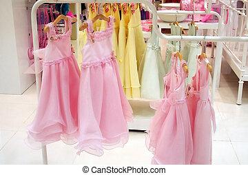 girls', robes partie