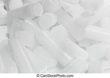 glace sèche, fond