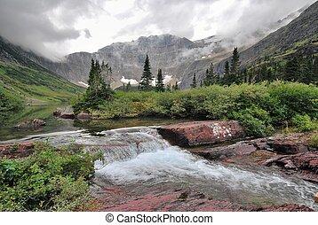 glacier, national, montana, parc