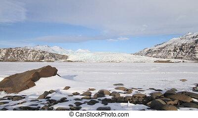 glacier, vue