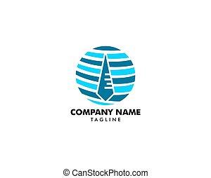 global, élément, métier, conception, logo, icône