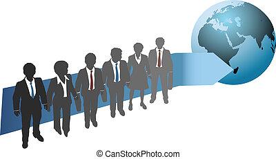 global, avenir, travail, professionnels