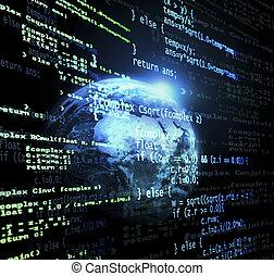 global, code