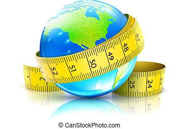 global, concept, régime