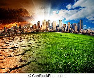 global, désastre