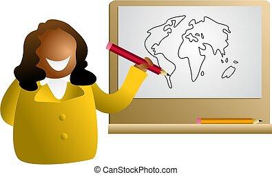 global, dessin