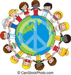 global, enfants
