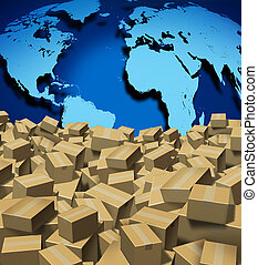 global, expédition