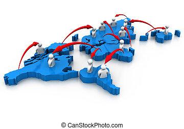 global, gens, gestion réseau