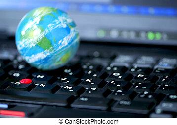 global, informatique, business, internet