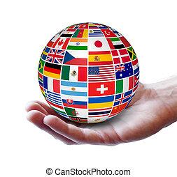 global, international, concept, business