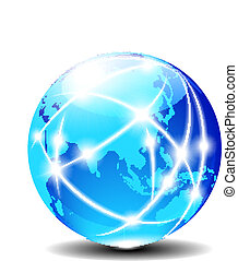 global, porcelaine, asie
