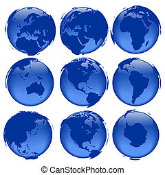 globe, #5, vues