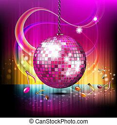 globe, disco