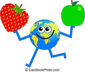 globe, fruit