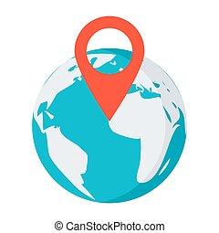 globe, indicateur