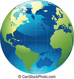 globe mondial