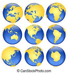 globe, vues, #6