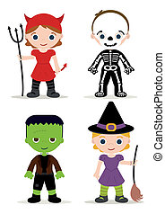 gosses, costume halloween