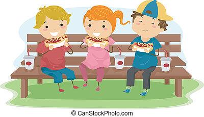 gosses, hot-dog
