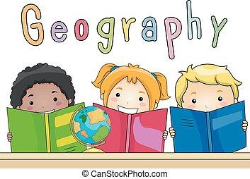 gosses, livres, géographie