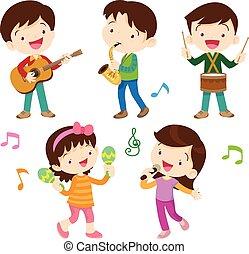 gosses, musical, danse