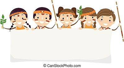 gosses, stickman, yabun, festival, australien, bannière