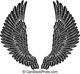 gothique, ailes