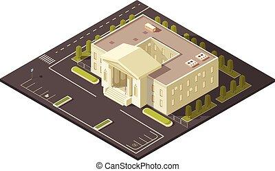 gouvernement, concept, bâtiment