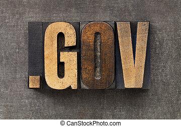 gouvernement, domaine, internet
