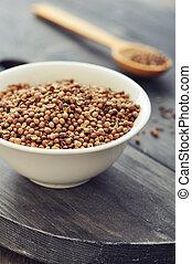 graines, coriandre