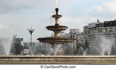 grand, bucharest, fontaine