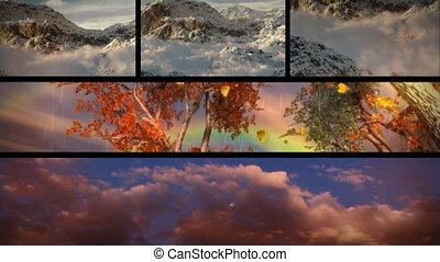 grand, nature, puits, voyage, thèmes, aventure, temps, composition, outdoors., cieux, tourisme, saisonnier