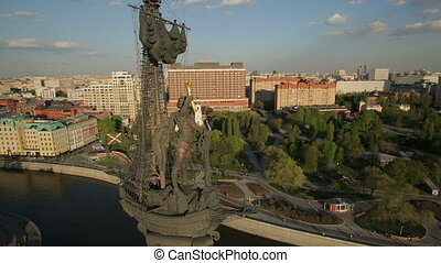 grand, peter, moscou, monument
