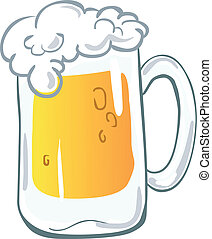grande tasse bière