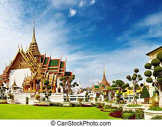 grandiose, bangkok, thaïlande, palais