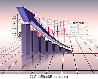 graphique, économie