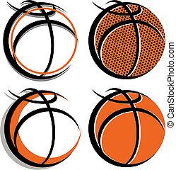 graphique, basket-ball