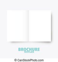 graphique, business, édition, presentation., conception, gabarit, brochure, trifold, éléments