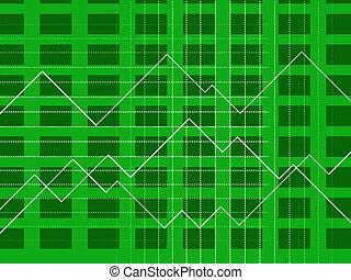 graphique, graphique financier, diagramme, ligne, spectacles