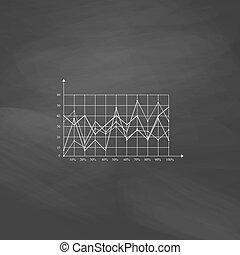 graphiques, symbole, informatique