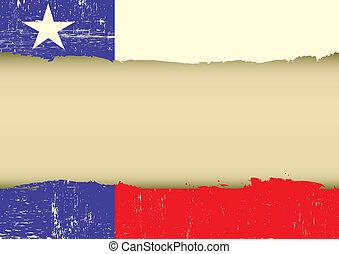 gratté, solitaire, drapeau, étoile