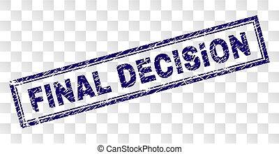gratté, timbre, décision, final, rectangle
