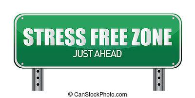 gratuite, tension, zone, juste, devant