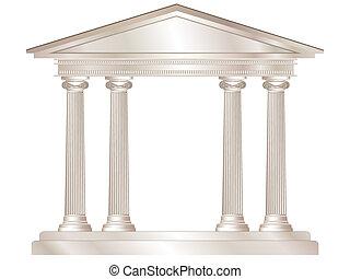 grec, temple