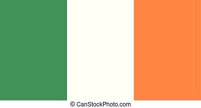 (green, pays, drapeau national, orange), irlande, blanc