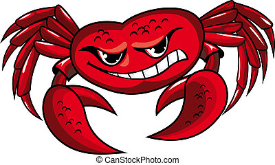 griffes, crabe, danger