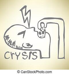 griffonnage, crysis