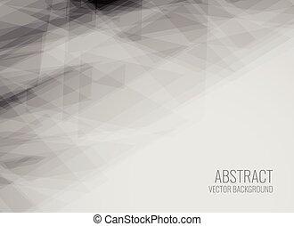 gris, géométrique, texture, résumé, fond