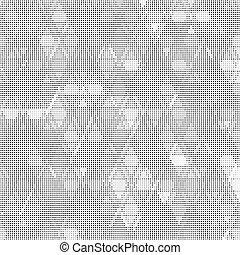 gris, texture., fond, résumé
